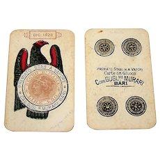 """Guglielmo Murari """"Napoletane"""" Playing Cards, c.1923"""