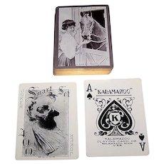 "Kalamazoo ""Smart Set #400"" Playing Cards, ""A Sweet Tooth,"" c.1906"