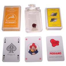 "Modiano ""Italia"" Maritime Playing Cards, c.1970s"