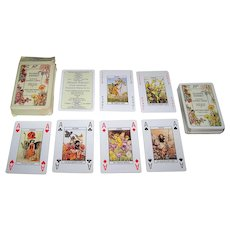 """SAC """"Flower Fairies"""" Playing Cards, Cicely Mary Barker Illustrations, c.2001"""