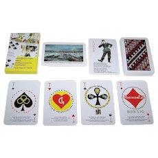 "Poligrafist ""Anti-Fascist"" Cards, Reserve Museum ""Breakthrough of the Siege of Leningrad,"" Ivan Kharkevich 1943 Designs, c.2003"