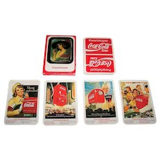 "Dutch Coca Cola ""Kwartetspel"" Card Game, c. 1985"