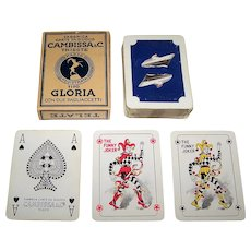 "Cambissa ""Italia"" Maritime Playing Cards, c.1970s"