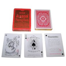 "USPC ""Aladdin 1002"" Playing Cards, c.2007 (?)"