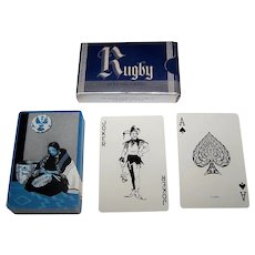 """USPC """"Rugby"""" Playing Cards, c.1938"""