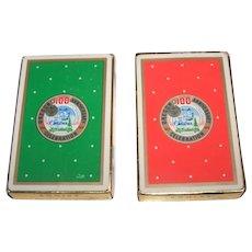 "Twin Decks Brown & Bigelow ""Oregon 100th Anniversary"" Playing Cards, c.1959"