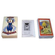 "Fournier ""Tarot de Euskalherria"" (a.k.a. ""Basque Country Tarot"") Tarot Cards, Maritxu Erlanz de Guler and Alfredo Fermin Cemillan Creators, c.1991"