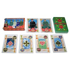 "Russia State Printing Works ""Commander"" Playing Cards, Russian Military Strength, c.1997"