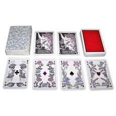 """ASS """"Einhorn"""" (""""Unicorn"""") Playing Cards, Richard König Designs, c.1986"""