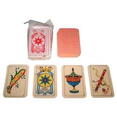 "Cartotecnica Centroamericana S.A. ""Naipes Hispasa"" Playing Cards w/ Original Wrapper, 40-Card ""Stripped"" Spanish Deck, c.2002"