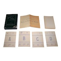 "Theodore Presser Co. ""Game of Triads or Chords"" Card Game, Carl W. Grimm, Inventor/Creator, c.1898"