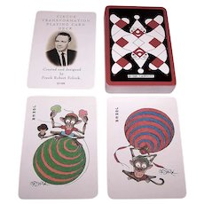 "Carta Mundi ""Circus"" Transformation Playing Cards (Cards Only), F. Robert Schick Designer and Publisher (Posthumously), Ltd. Ed. (633/1000), c. 1988"
