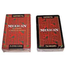 "Carta Mundi ""Artdeck Mexican"" Playing Cards, Aristoplay, Ltd. Publisher, Meadows & Wiser Designs, c.1993"