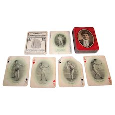 "W.P. Jeffries ""Jeffries Championship Fight Souvenir Cards"" Playing Cards, c.1909"