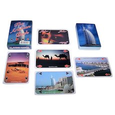 """The Arabian Deck"" Souvenir Playing Cards"