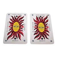 "Carta Mundi ""Desperanto"" Playing Cards, Qui Vive, Ltd. Publisher, c.1990"