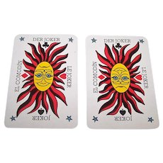 "Carta Mundi ""Desperanto"" Playing Cards, Qui Vive, Ltd. Publisher, c.1990"
