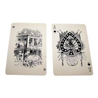 """American Playing Card Co. """"Brownie No.35"""" Playing Cards, Palmer Cox Joker, c.1890"""