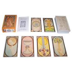 "Muller ""Renaissance Tarot"" Tarot Cards, U.S. Games Systems Publisher, Brian Williams Creator/Designer, c. 1987"