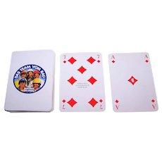 """Berliner Spielkarten """"Das Team Vom Bau"""" Skat Playing Cards, c.1983"""