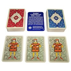 """Double Deck ASS """"Dondorf Centennial"""" (""""Royal Gothic"""") Playing Cards, c.1975"""