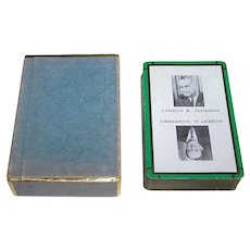 "USPC ""Lyndon Johnson / Hubert Humphrey"" Playing Cards, c.1964"