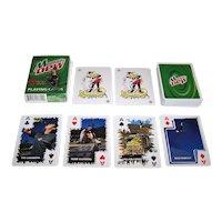 """Carta Mundi """"Mountain Dew"""" Advertising Playing Cards, Extreme Sport Athletes: Cooke, Hinkley, Chanita, Glifberg"""