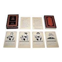 "Aristoplay, Ltd. ""Greek Myths and Legends"" Educational Card Game, Daniela Viecelli Designs, c.1977"