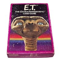 """Parker Bros. """"E.T. the Extra-Terrestrial"""" Card Game, c.1982"""