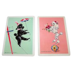 "Double Deck Arrco ""Constance Depler"" Playing Cards, Constance Depler Designs, c.1970s (?)"