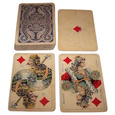 """Adolph Wulff """"No.12"""" Playing Cards, c.1900"""