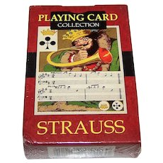 "Lo Scarabeo ""Strauss"" Facsimile Playing Cards, [Original: Dondorf No. 227, ""Musical"" c.1860s], c.2004"