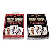 "Twin Decks USPC ""Wild West"" Playing Cards, Fashionwest Accessories Publ., c.2003"