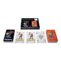 "Double Deck Carta Mundi ""Keith Haring"" Playing Cards, te Neues Publishing Company, c.2000"