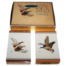 "Double Deck Brown & Bigelow ""Richard Bishop Game Birds"" Playing Cards, Richard Bishop Artwork, c.1950s"