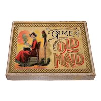 "McLoughlin Bros. ""The Game of Old Maid"" Card Game, c.1901"