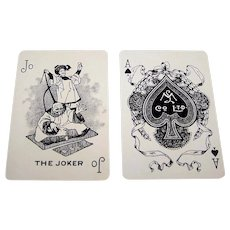 "Montreal Lithographing Co., Ltd. ""La Brasserie Champlain"" Playing Cards, c.1910-1915"