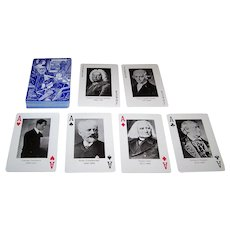 "Thurston Moore Country, Ltd. ""Composer"" Playing Cards, Maker Unknown (Taiwan), c.1982"
