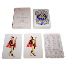"Russia State Printing Works ""Slavonic"" Playing Cards, c.1985"