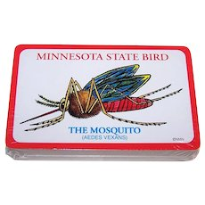 "Windmill (Hong Kong) ""Minnesota State Bird – The Mosquito"" Playing Cards"