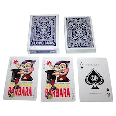 "Nintendo ""GB Magic"" Playing Cards, ""Barbara the Bat"""