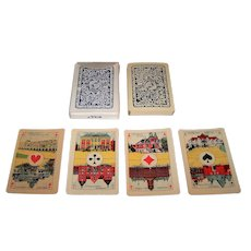 """La Turnhoutoise, S.A. """"Piket"""" Playing Cards, c.1920"""