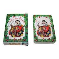 "Kurt S. Adler, Inc. ""Santa's World"" Playing Cards"