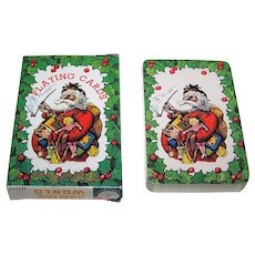 "Kurt S. Adler, Inc. ""Santa's World"" Playing Cards"
