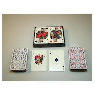 "Double Deck Draeger Freres ""Ciel de France"" Playing Cards, Miro Company Publisher, Jacques Branger Designs, c.1950"