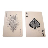 "Russell ""Fortuna"" or ""Bridgit 227"" Playing Cards, ""Fortuna Joker,"" c.1920s"