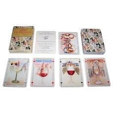 "Grimaud ""Vins de France"" Playing Cards, 2nd Ed., Gilles Sacksick Designs, c.1991"