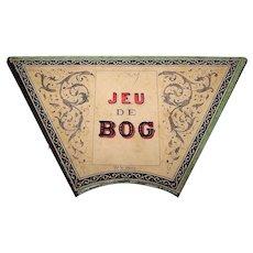 """""""Jeu de Bog"""" Game Board, c.1890"""