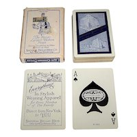 "USPC ""National Bellas Hess"" Playing Cards (52/52, NJ, Extra Card), c.1928"