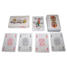 "Carta Mundi ""Koninklijke Nederlandse Lawn Tennis Bond"" (""Royal Dutch Lawn Tennis Association"") Playing Cards"